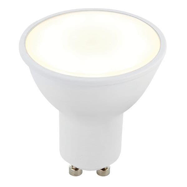 Saxby GU10 LED SMD Beam Angle 120 Degrees 6w Cool White 78857 By Massive Lighting