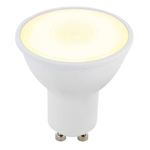 Saxby GU10 LED SMD Beam Angle 120 Degrees 6w Warm White 78856 By Massive Lighting