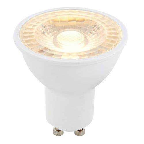 Saxby GU10 LED SMD Beam Angle 38 Degrees Dimmable 6w Warm White 78862 By Massive Lighting