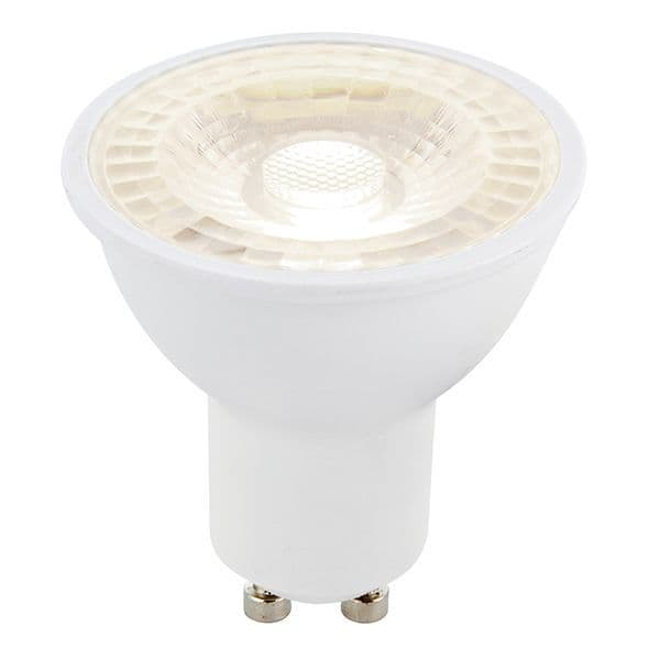 Saxby GU10 LED SMD Bean Angle 38 Degrees Dimmable 6w Cool White 78863 By Massive Lighting
