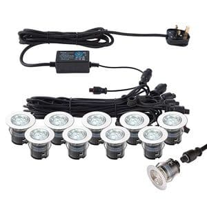 Saxby IkonPRO CCT 6500K/Blue 35mm Kit IP67 0.75w 76616 By Massive Lighting