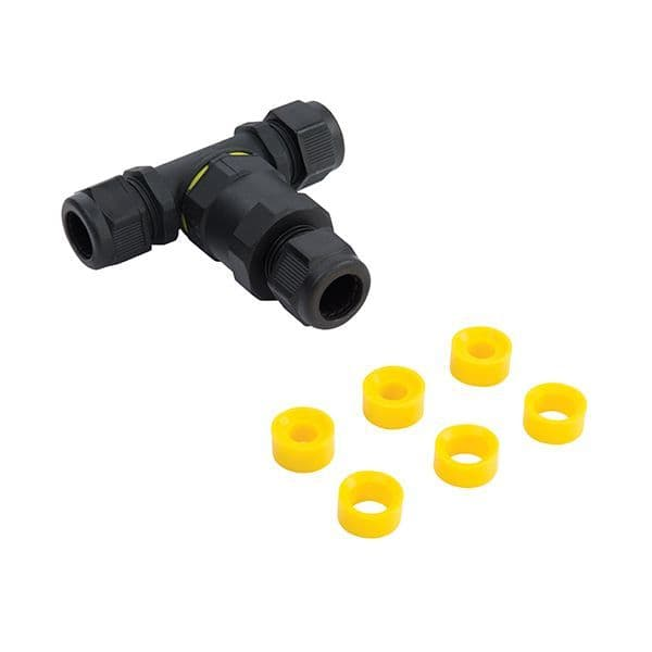 Saxby Inline IP68 Connector Tee IP68 Accessory 61514 By Massive Ligting