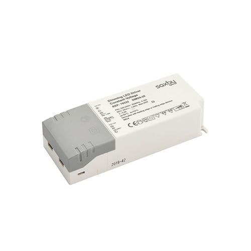 Saxby LED Driver Constant Voltage Dimmable 24v 25w 79332 By Massive lighting