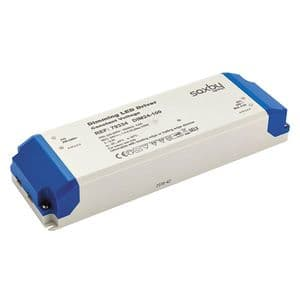 Saxby LED Driver onstant Voltage Dimmable 24v 100w 79334 By Massive Lighting