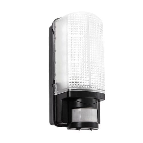 Saxby Motion LED PIR 1lt Wall IP44 6w Daylight White 73716 By Massive Lighting