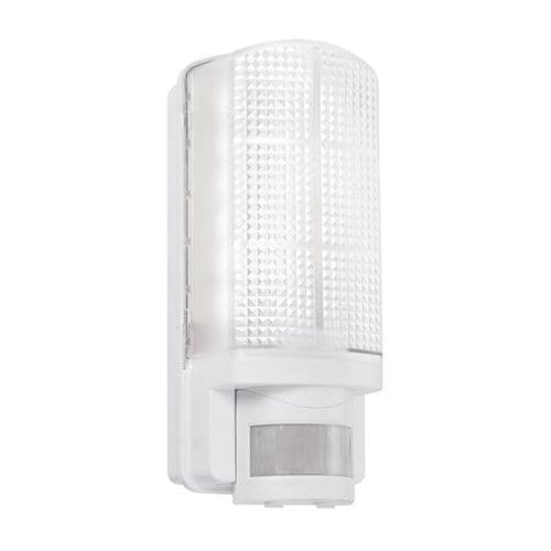 Saxby Motion LED PIR 1lt Wall IP44 6w Daylight White 73717 By Massive Lighting