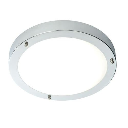 Saxby Portico LED Flush IP44 9w Cool White 54676 By Massive Lighting