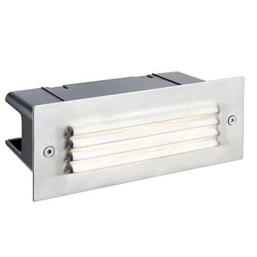Saxby Seina Louvre IP44 3.5w Cool White 78639 By Massive Lighting
