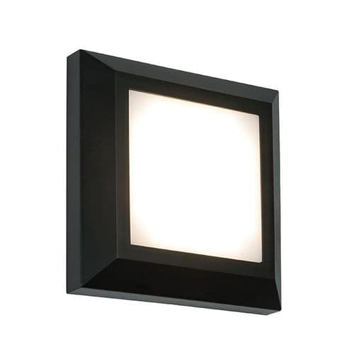 Saxby Severus Square Direct IP65 3w Warm White 61218 By Massive Lighting