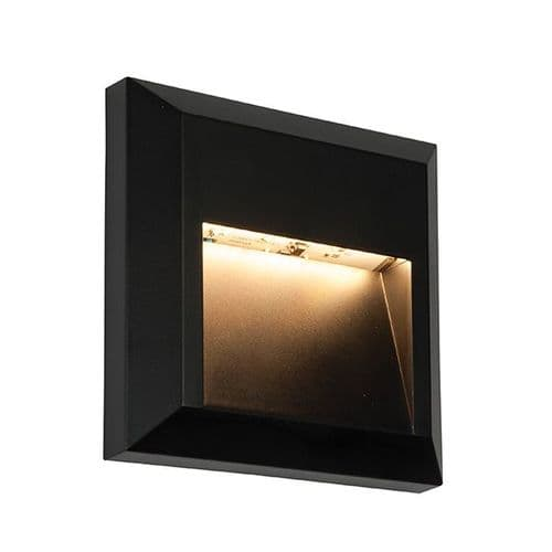 Saxby Severus Square Indirect IP65 1.1w Warm White 61219 By Massive Lighting