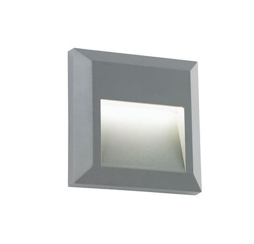 Saxby Severus Square Indirect IP65 1.1w Warm White EL-40107 By Massive Lighting
