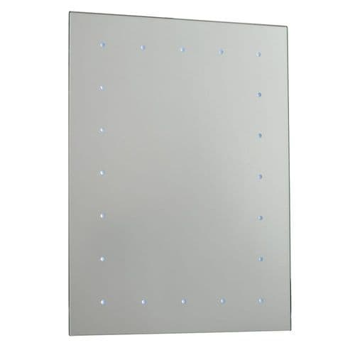 Saxby Toba Battery Operated Mirror IP44 0.07w SW 51898 By Massive Lighting