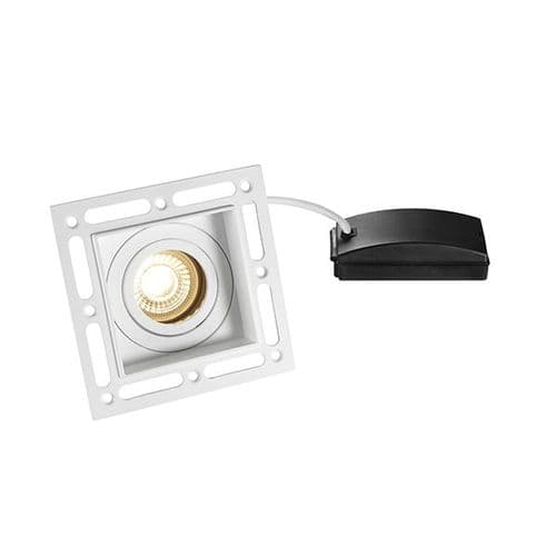 Saxby Trimless Downlight Square 7w 78955 By Massive Lighting