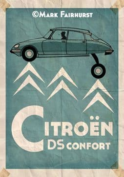 Citroen DS: Smooth over rough