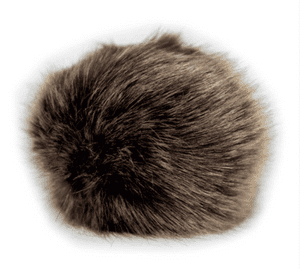Super soft faux fur pompom