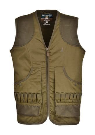 1229 Percussion Savane Quality Shooting Waistcoat Gilet Hunting Vest Game Pocket