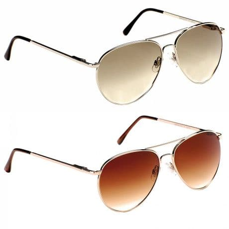 Aviator UV400 Eyelevel Sargeant Mirror Designer Sunglasses Sport Silver Copper