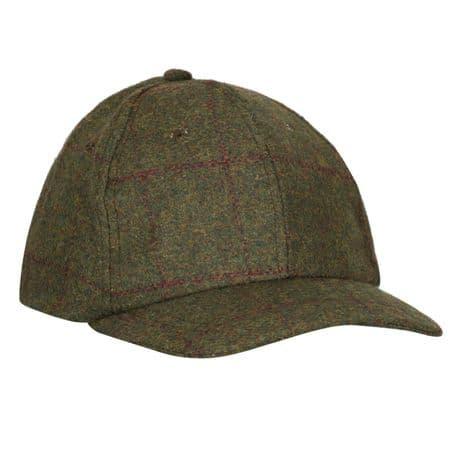 Blenheim TWEED Waterproof Baseball Cap Country Hat Breathable New Wool