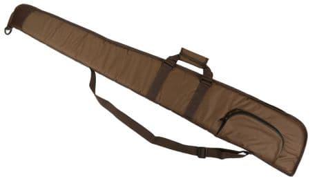 "BROWN Well Padded Gun Slip 52"" Shotgun Bag Clay Pigeon Shooting Hunting New"