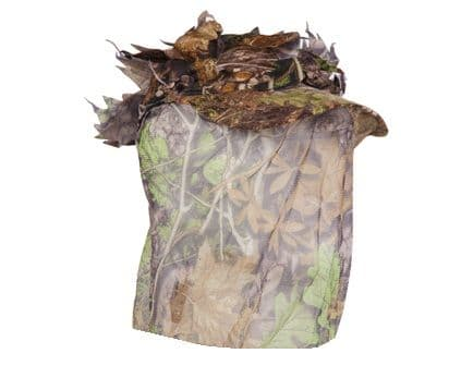 Camo Cap + Veil Cover 3D Leafy Sneaky Hat Facemask Pigeon Shooting Decoying New