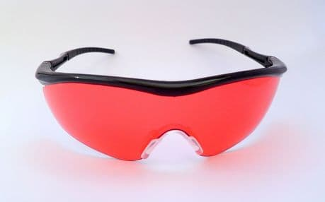 Impact Red Vermil Safety Clay Pigeon Shooting Glasses Eyelevel Sunglasses UV 400