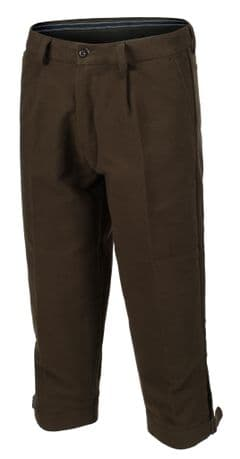 Mens Quality Olive Moleskin Shooting Breeks Casual Country Wear New Green RP £39