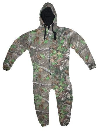 REALTREE Adults ONESIE Onepiece Jumpsuit Pigeon Shooting Decoying Soft Warm New