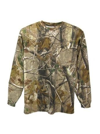 Realtree Childrens Long Sleeve Top Kids Boys Youths Shooting New Warm RRP £19