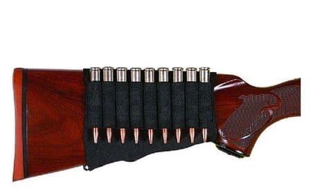 Riverside Rifle Butt Stock 9 Bullet Cartridge Holder Neoprene Suits Most Caliber