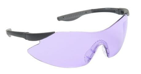 Target Purple Safety Clay Pigeon Shooting Glasses Eyelevel Sunglasses UV 400