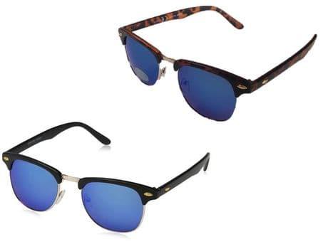 UV400 Eyelevel Woodstock Mirror Designer Sunglasses Sport Blue Lense Wayfarer