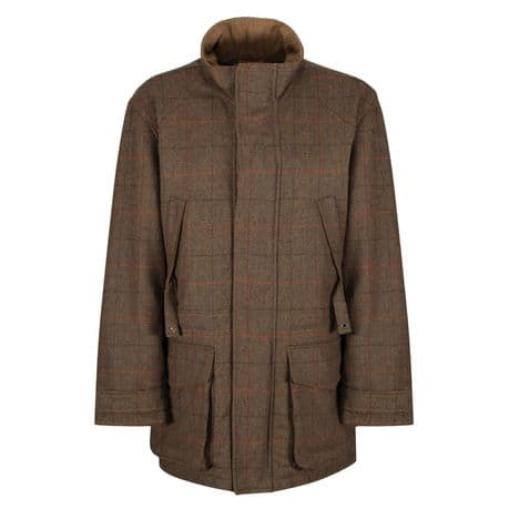 Wilmslow Wool Russet Tweed Shooting Jacket Coat Traditional Tailored Quality New