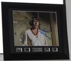 """A365EP ESTELLE PARSONS SIGNED """"BONNIE AND CLYDE"""" SIGNED FRAMED AUTHENTIC AUTOGRAPH GUARANTEED"""