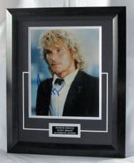 "A75PSPB PATRICK SWAYZE - ""POINT BREAK"" SIGNED"