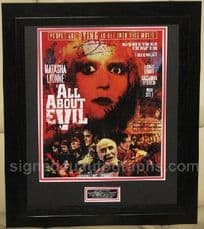 All About Evil - Multi Signed