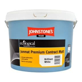 Johnstones Trade Jonmat Premium Contract Matt Emulsion White 10lt