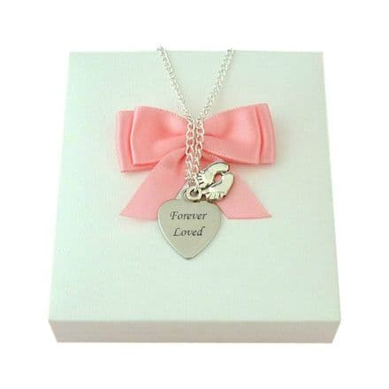 Baby Loss Necklace with Engraving