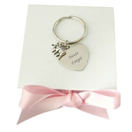 Elephant Keyring Personalised with Engraving