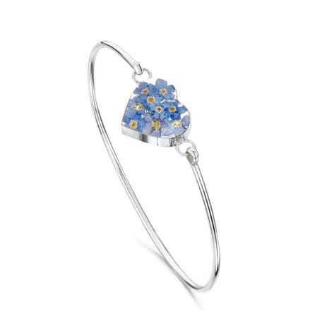 Remembrance Bangle, Forget Me Not Collection