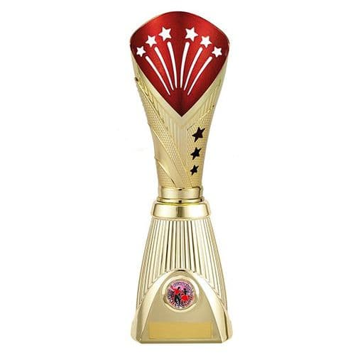 All Stars Deluxe Rapid Trophy Gold & Red 315mm
