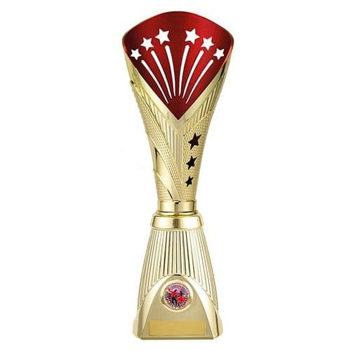 All Stars Deluxe Rapid Trophy Gold & Red 360mm