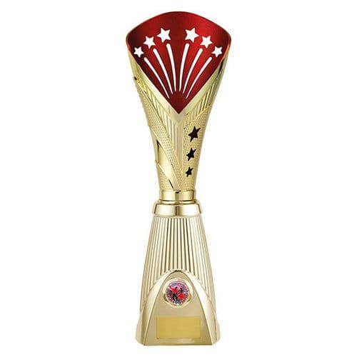 All Stars Deluxe Rapid Trophy Gold & Red 385mm