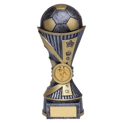 All Stars Football Heavyweight Award Antique Silver & Gold 180mm