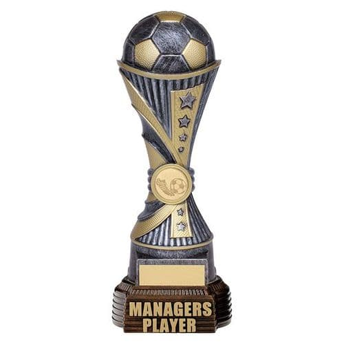All Stars Football Managers Player Antique Silver & Gold 260mm