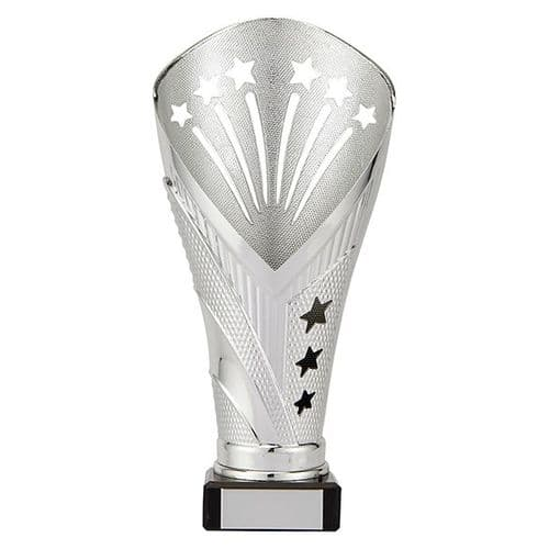 All Stars Large Rapid Trophy Silver 205mm