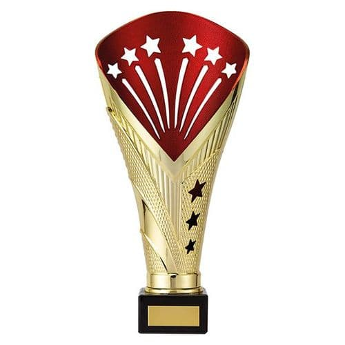 All Stars Super Rapid Trophy Gold & Red 260mm