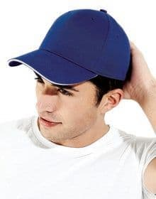 ATHLEISURE 6 PANEL CAP FRENCH NAVY/WHITE  L'