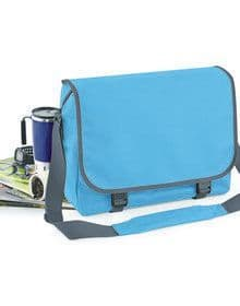 BAGBASE MESSENGER BAG SURF BLUE/GRAPHITE  L'