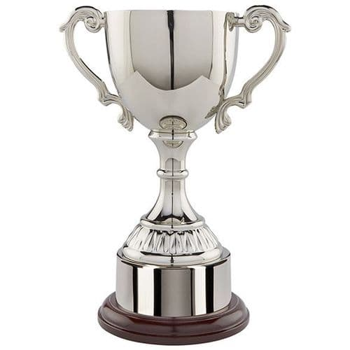 Cambridge Collection Nickel Plated Cup 320mm Standing at 230mm Perpetual Award