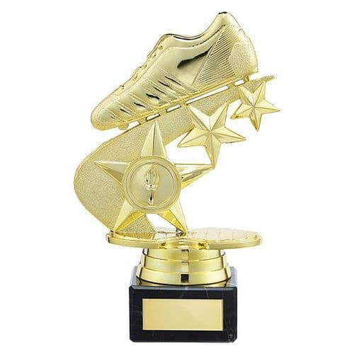 Champions Football Boot Trophy Gold 175mm